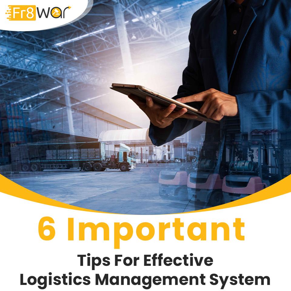 EFFECTIVE LOGISTICS MANAGEMENT SYSTEM